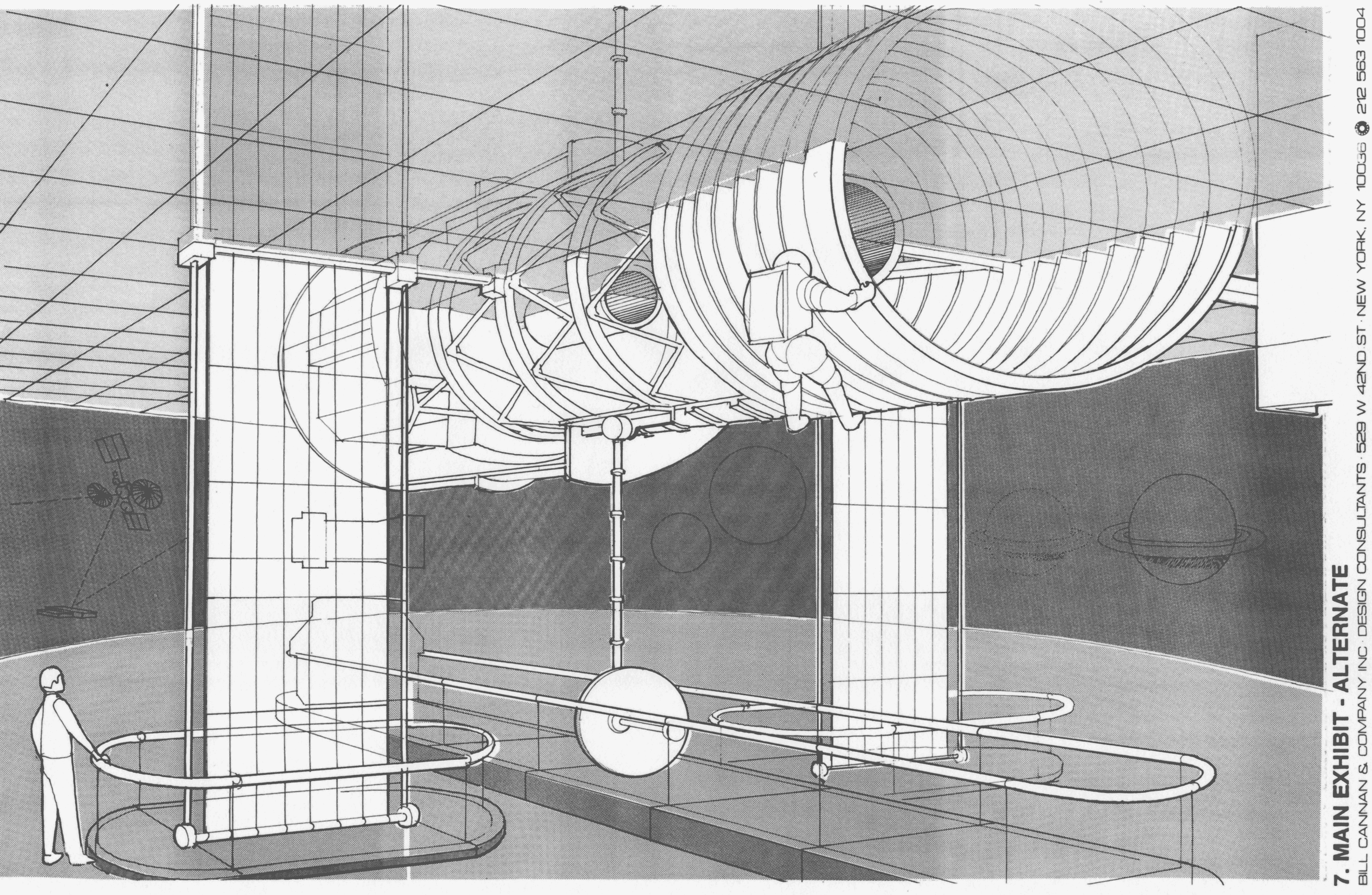 Drawing of ceiling proposal