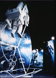 Display of spacewalk