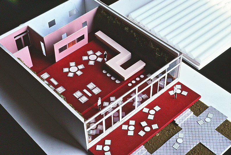 Top view of 1985 chalet model.