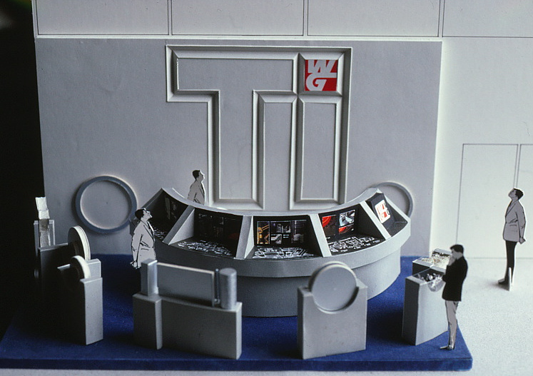 Scale model that was built for The TI Show.