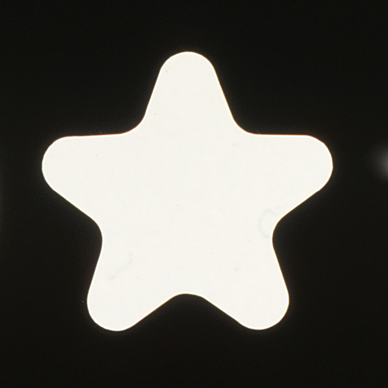 Single star design used in the logo and font.