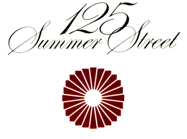 125 Summer Street logotype and circular symbol.